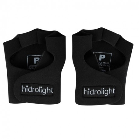 Luva para Musculação Preta Hidrolight