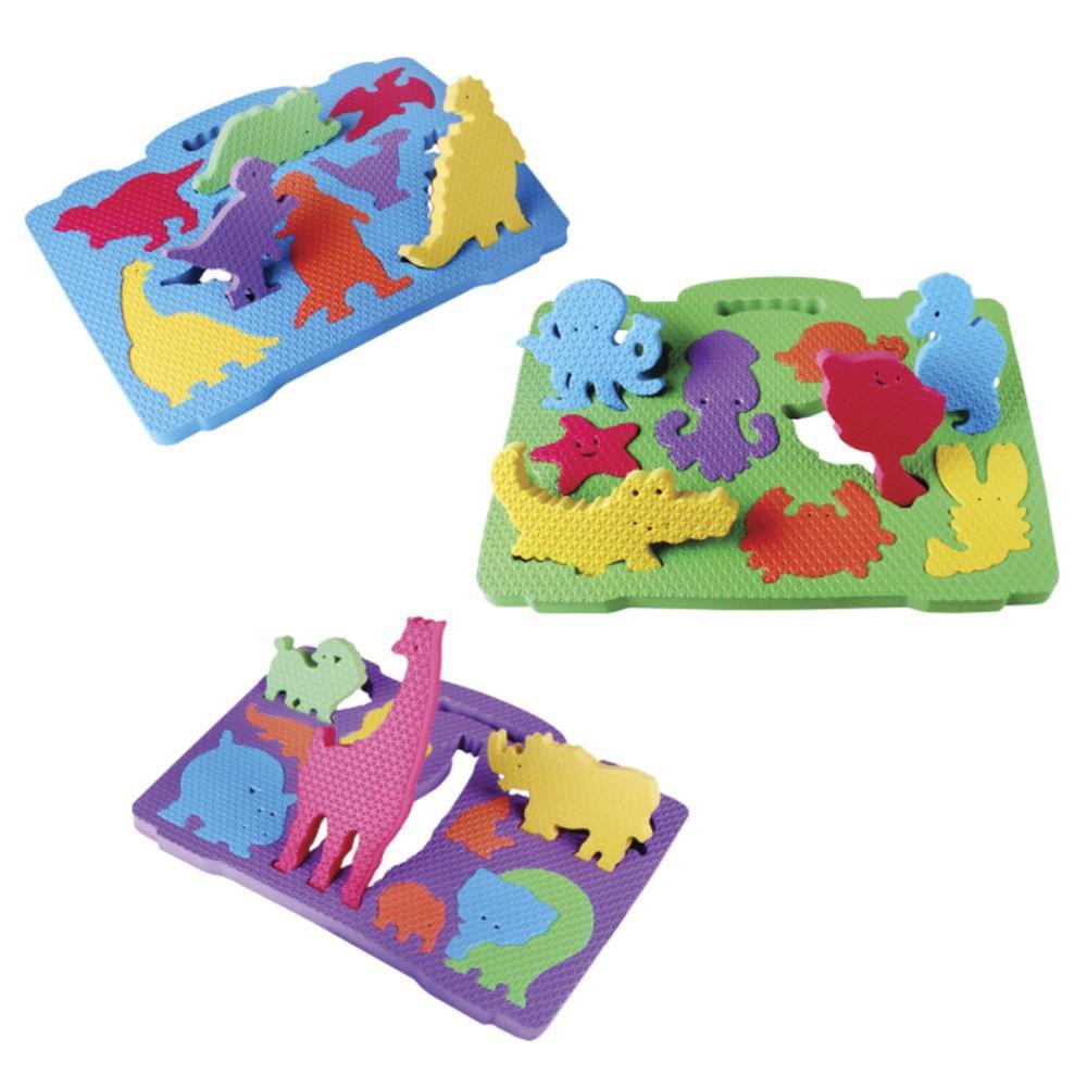 Maleta Animais Colorida 3 peças Evamax