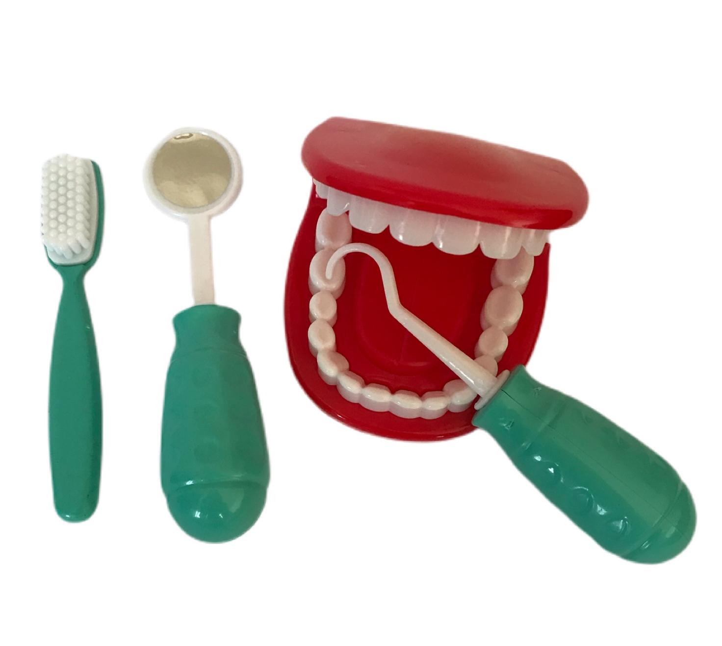 Maleta De Médico e Dentista Infantil 2 Unidades para Menino