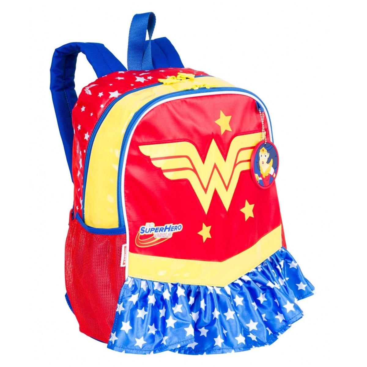 Mochila Super Hero Girls Wonder Woman Sestini