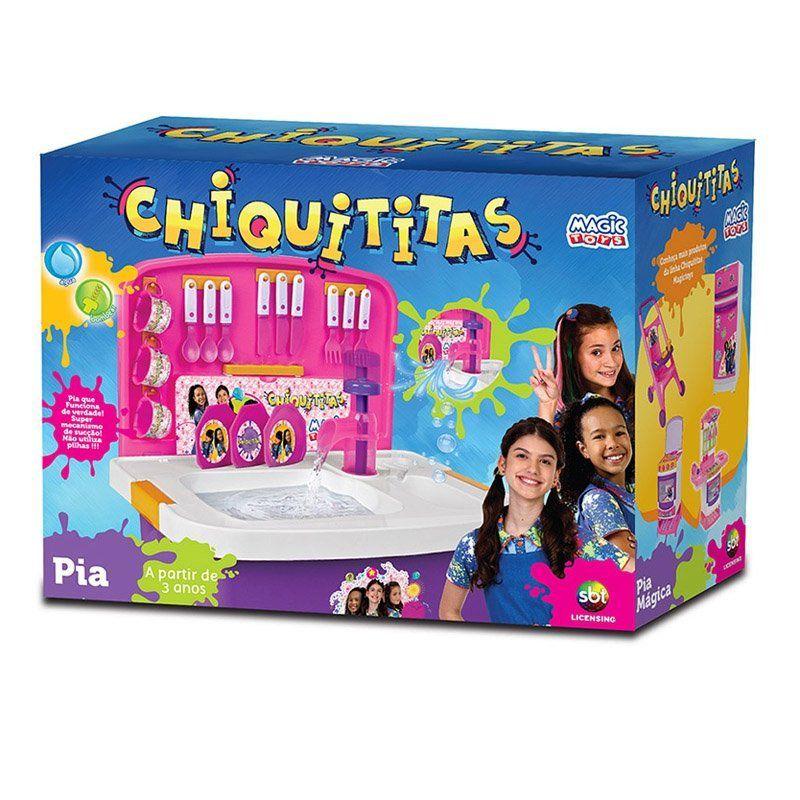 Pia Mágica Chiquititas Ref 618 Magic Toys
