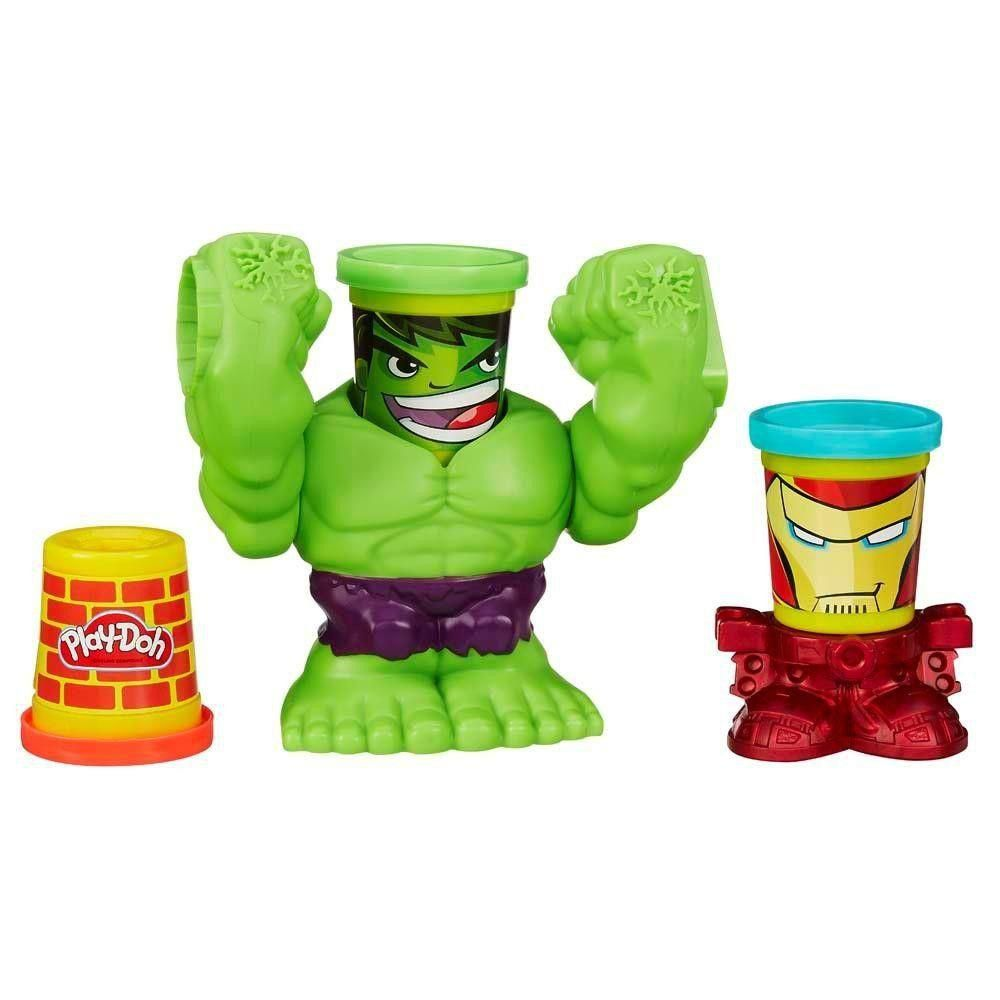 Play Doh Hulk Esmagador B0308 Hasbro