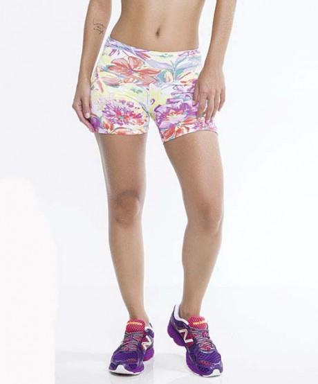 Short Fitness Flores