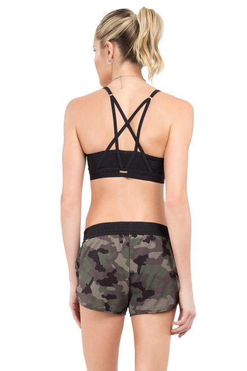 Shorts Bella Camouflage Green Live