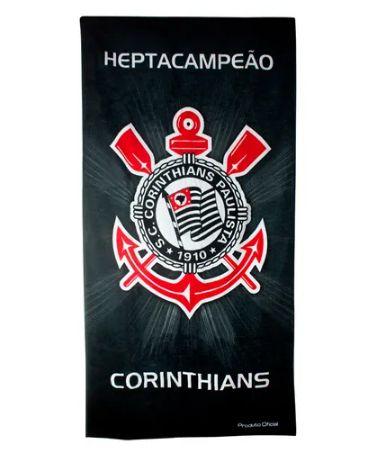 Toalha de Banho Corinthians 62510 Buettner