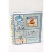 Álbum de fotos Baby Azul -300 fotos 10x15 cm com visor