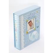 Álbum de fotos Baby Blue -100 fotos 10x15 cm com visor
