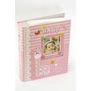 Álbum de fotos Baby Pink -100 fotos 10x15 cm com visor