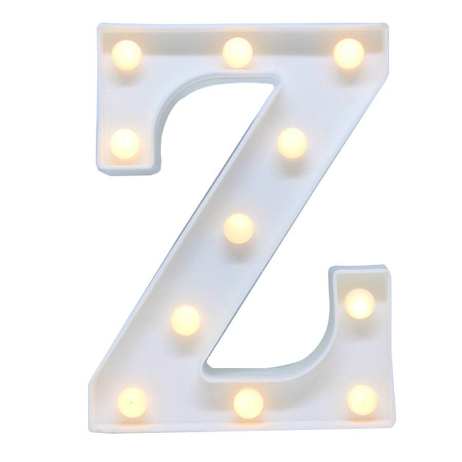 Letras luminosas decorativas led 3D  a pilha