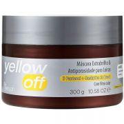 Yenzah - Yellow Off - Máscara ExtraBrilho e Antiporosidade Com Filtro Solar - 300g
