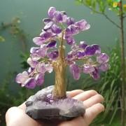 Cristal - Árvore de Pedras Ametista