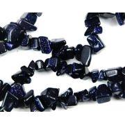 Cristal - Colar Cascalho - Pedra Estrela