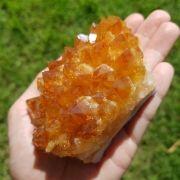 Cristal - Drusa - Citrino Alta Qualidade