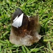 Cristal - Drusa - Quartzo Fumê Grande Energia e Pureza