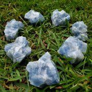 Cristal - Pedra Bruta - Calcita Azul (Unidade)