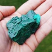 Cristal - Pedra Bruta Malaquita