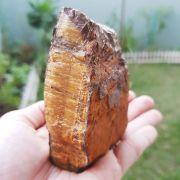 Cristal - pedra Bruta - Olho de Tigre