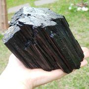 Cristal - Pedra Bruta Turmalina Negra Proteção