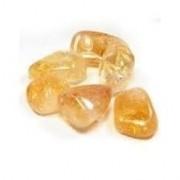 Cristal - Pedra Rolada - Citrino (Unidade)