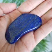 Cristal - Pedra Rolada - Lápis Lazúli com Pirita