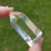Cristal - Ponta - Quartzo Branco Polido