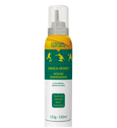 D'água Natural - Arnica Sports Mousse Efervescente - 150ml