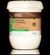 D'água Natural - Creme de Massagem Complexo Ecofloral Cafeína 7 Ativos - 650g