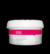 D'água Natural - Creme de Massagem Rosa Mosqueta e Argila Branca - 300g