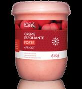 D'água Natural - Creme Esfoliante Apricot Forte Abrasão - 650g