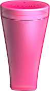 Fleurity - 2 em 1 - Porta Coletor e Esterilizador - Rosa