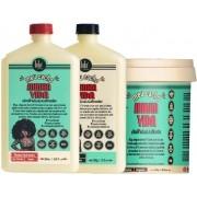 Lola Cosmetics - Kit Meu Cacho Minha Vida - Shampoo 500ml + Condicionador 500g + Máscara 930g