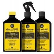 Lola Cosmetics - Kit Onde o Cloro Não Tem Vez - Shampoo 250ml + Condicionador 250g + Spray Pré-Piscina 250ml