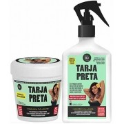 Lola Cosmetics - Kit Tarja Preta - Máscara 230g + Spray Queratina Vegetal Líquida 250ml
