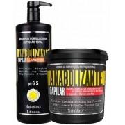 NatuMaxx - Kit Anabolizante Capilar - Shampoo Fortalecedor 1L + Máscara de Hidratação e Nutrição 1Kg