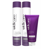 Widi Care - Cacheadas - Full Curls - Home Care - Shampoo 300ml + Condicionador 300ml + Leave in 200ml