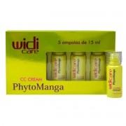 Widi Care - CC CREAM - PhytoManga - Kit Ampolas de Tratamento - 5 Unidades