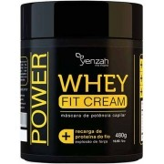 Yenzah - Máscara Whey Fit Cream Power - Recarga de Proteína - 480g