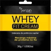 Yenzah - Máscara Whey Fit Cream Power - Recarga de Proteína - Sachê - 30g