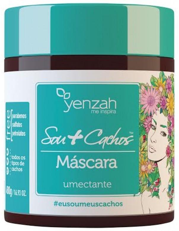 Yenzah - Sou+Cachos - Máscara Umectante - 480ml