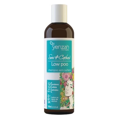 Yenzah - Sou+Cachos - Shampoo Low Poo - 240ml