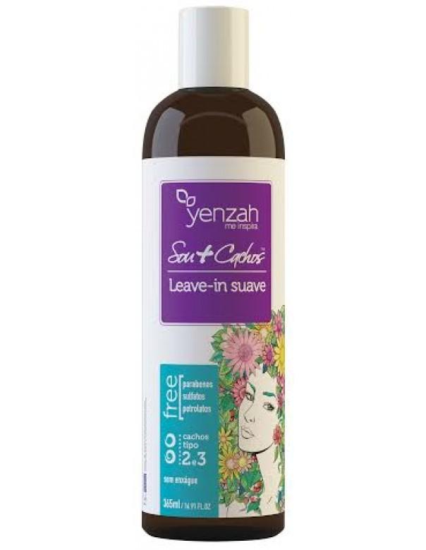 Yenzah - Sou+Cachos - Leave-in Suave - Cachos Tipo 2 e 3 - 365ml