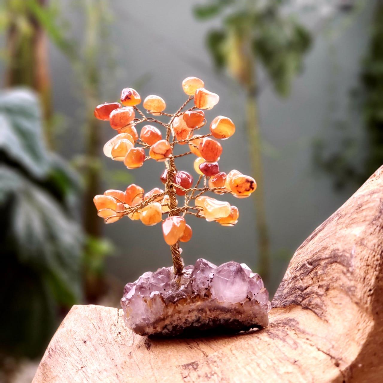 Árvore de Pedras Cornalina