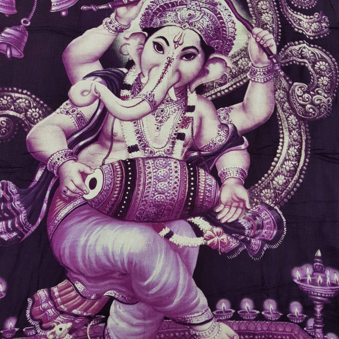 Canga Indiana - Coleção Deuses Hindus - Ganesha