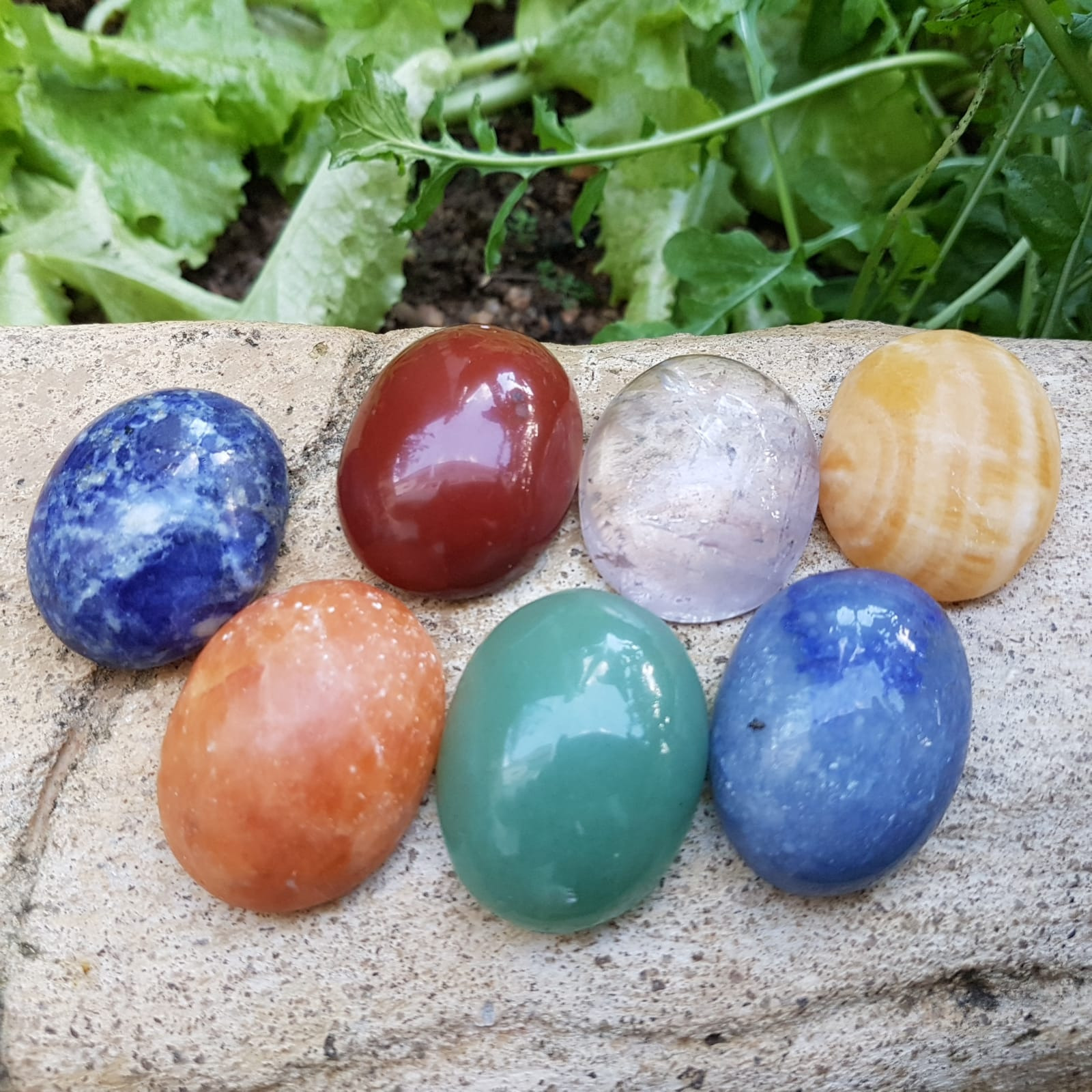 Cristal - Kit Pedra dos 7 Chakras