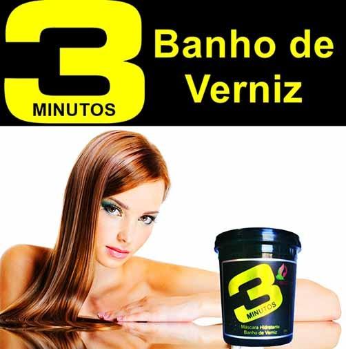 Linda Morena - Banho de Verniz - 3 Minutos - 250g