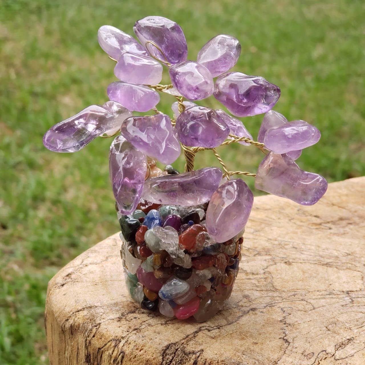 Cristal - Árvore Bonsai de Ametista