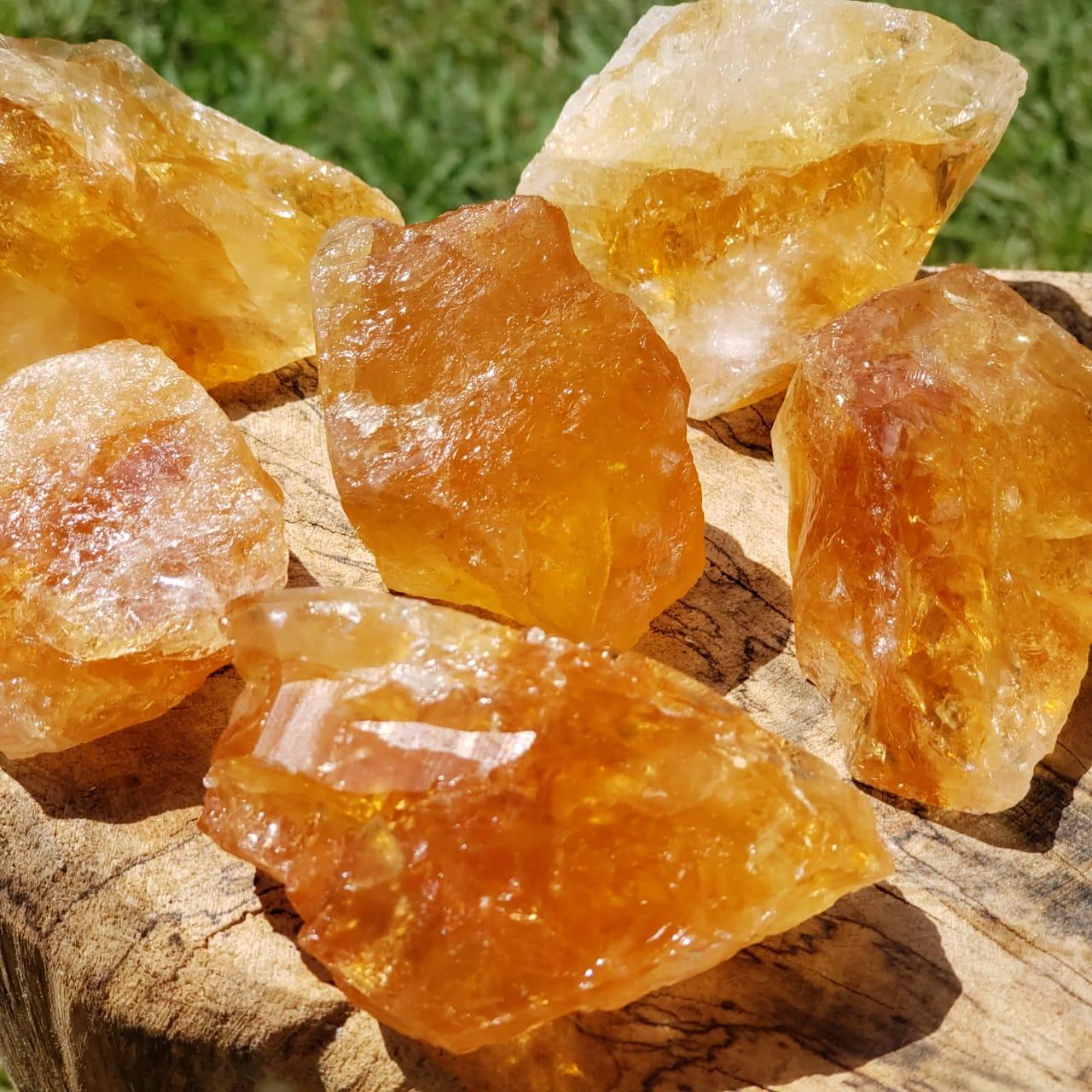 Cristal - Bruta - Citrino Alta Qualidade