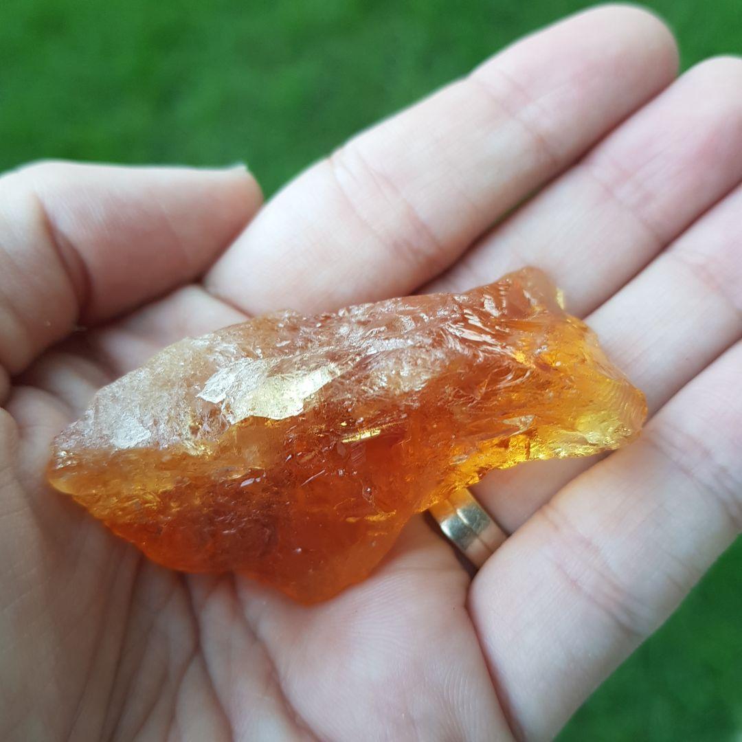Cristal - Bruta- Citrino Alta Qualidade