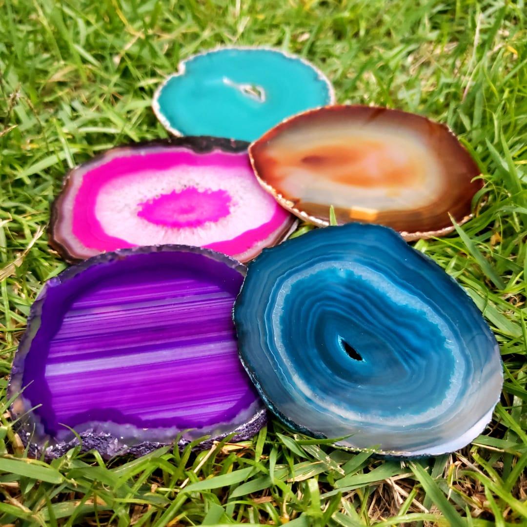 Cristal - Chapa - Coleção Placas de Ágata