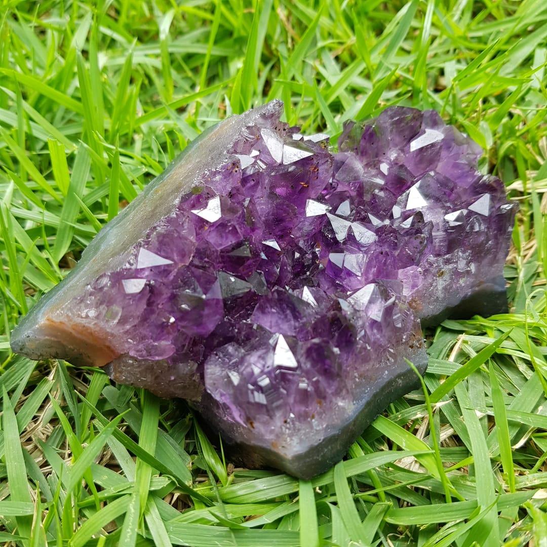 Cristal - Drusa - Ametista - Conexão com o Divino